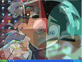 Danny Phantom Desktop by Dinogaby