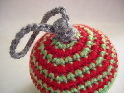 Striped Ami Christmas Ornament by GrayOvercast