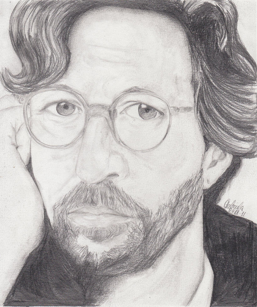 Eric Clapton by Gaby-nehan