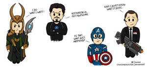Cartoon Avengers -1