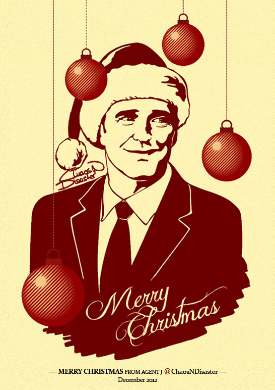 Xmas card 3 - A very Coulson Christmas (2012) by ChaosNDisaster