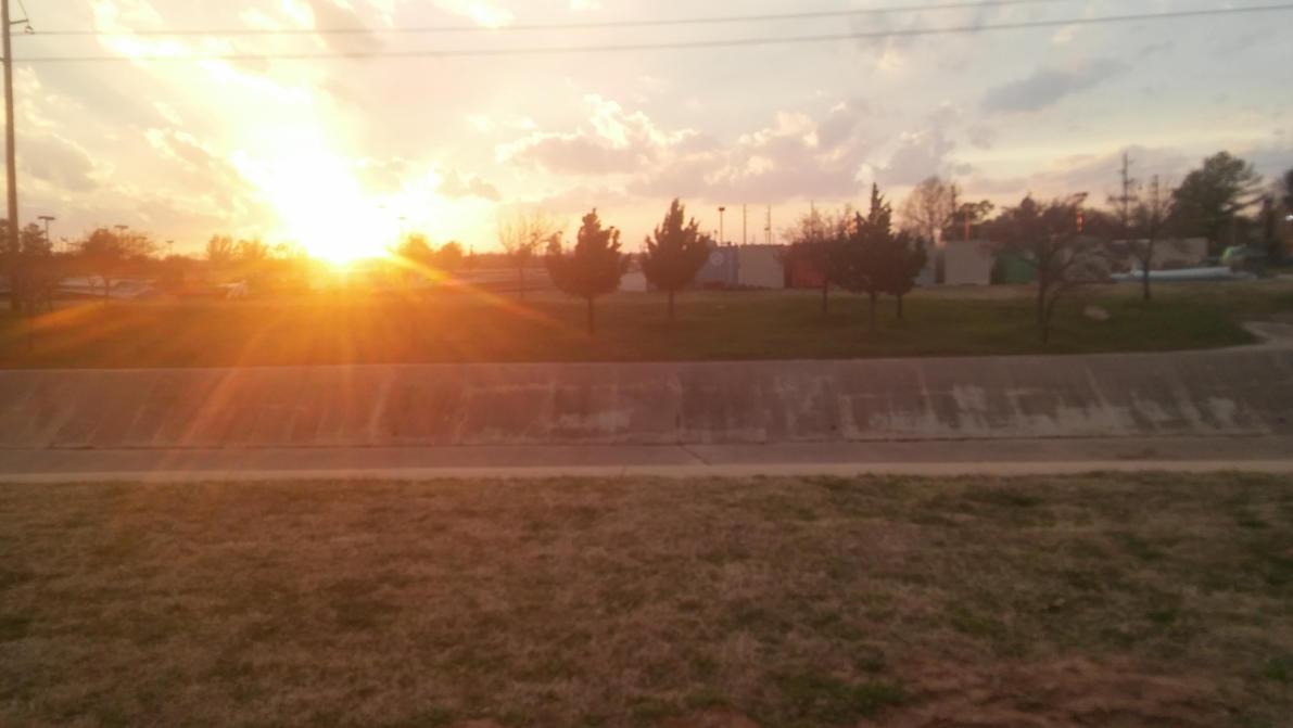 Sunrise through the mud by cbmintulsa