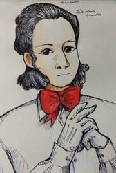 portrait of Casper