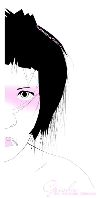 Geisha by blaqheartedstar