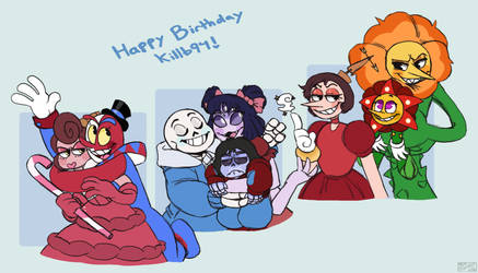 Happy Birthday Killb94!