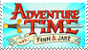 Adventure Time stamp