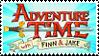 Adventure Time stamp by HybridYuki