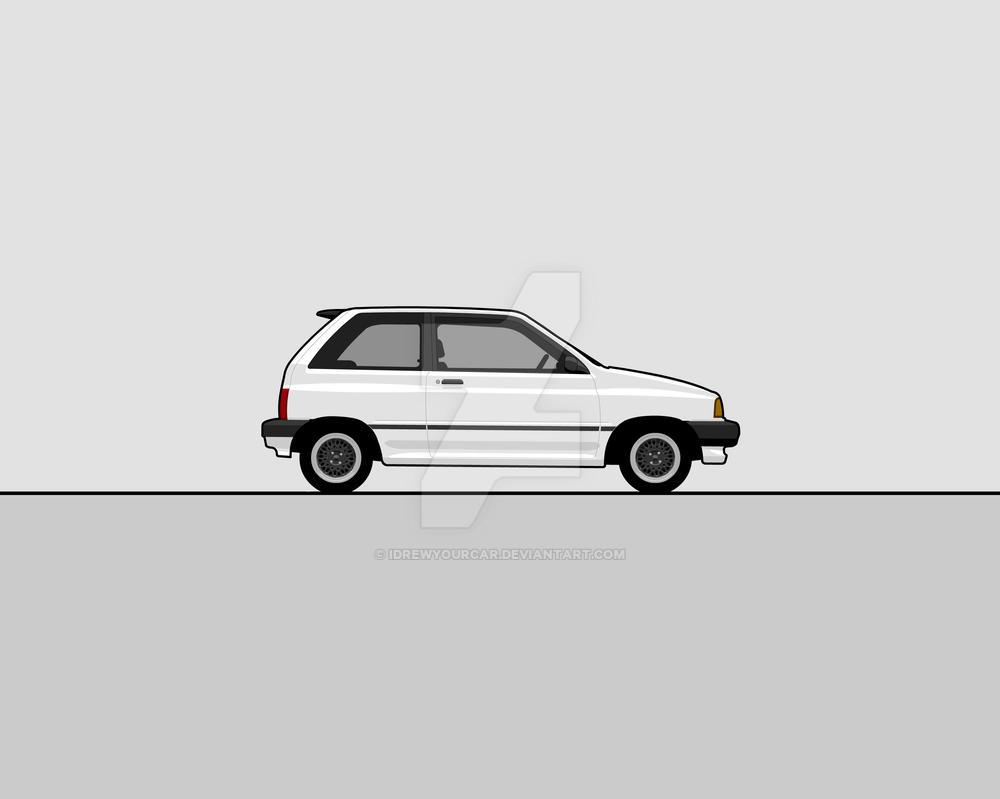 Ford Festiva By Idrewyourcar