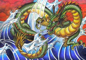 dragon by trezzy