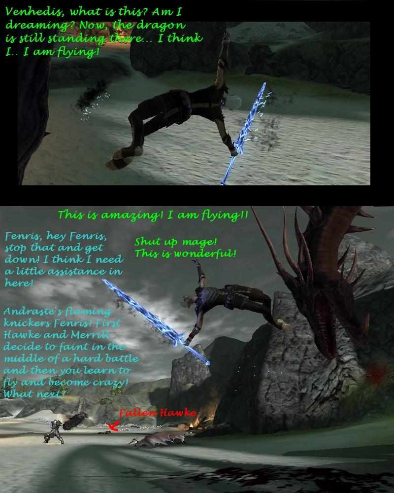 Fenris learns to fly by Swiper3