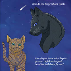 What does Cinderpelt want? (Remake 10 years later)