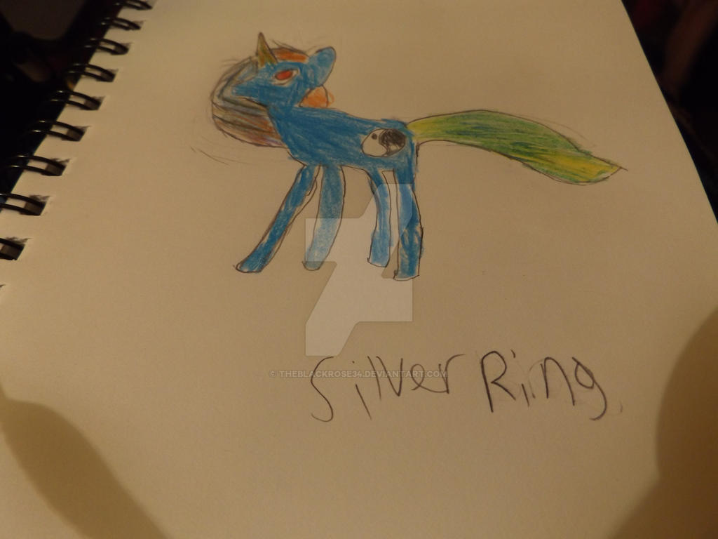 Silver Ring (My Pony Sona) by TheBlackRose34