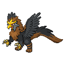 Pokemon Fusion: Griffin by EPDanish