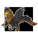 Pokemon Fusion: Griffin by EPDanish