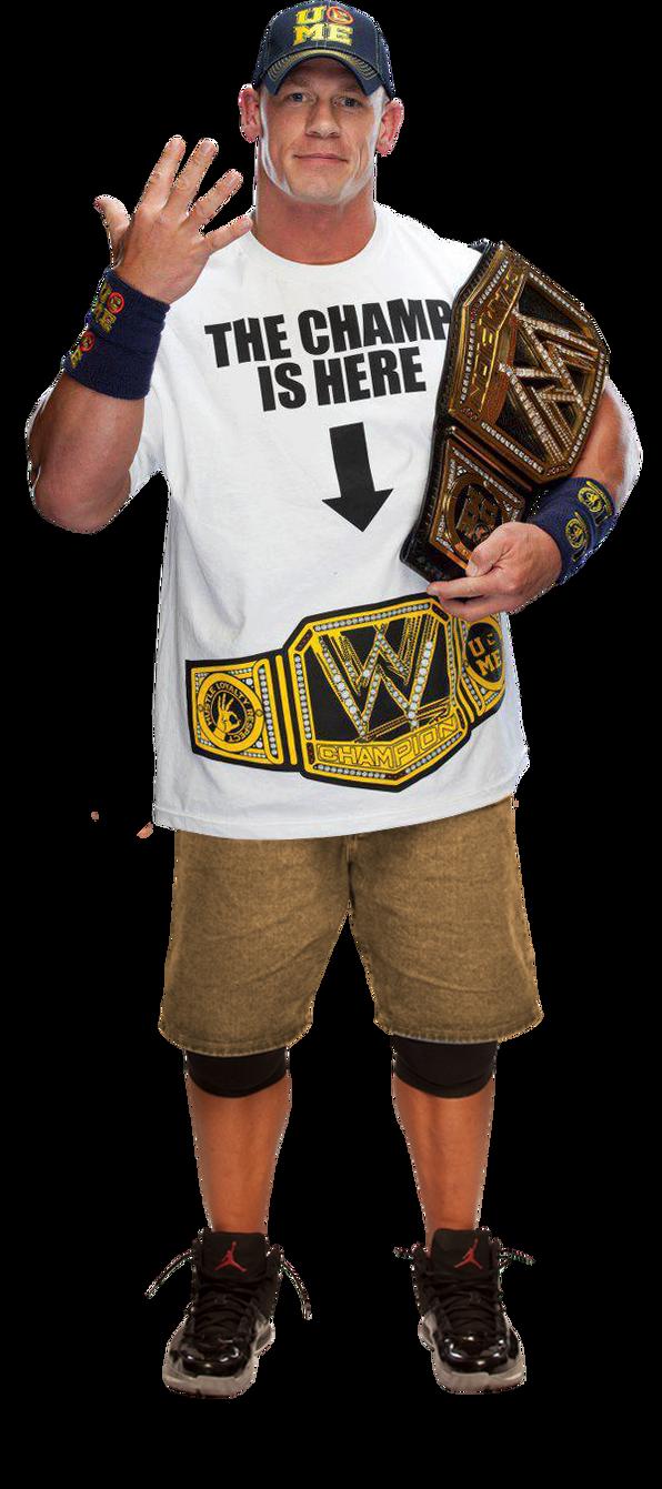 John Cena Wwe Champion V2 by the-rocker-69 on DeviantArt  John Cena Wwe C...