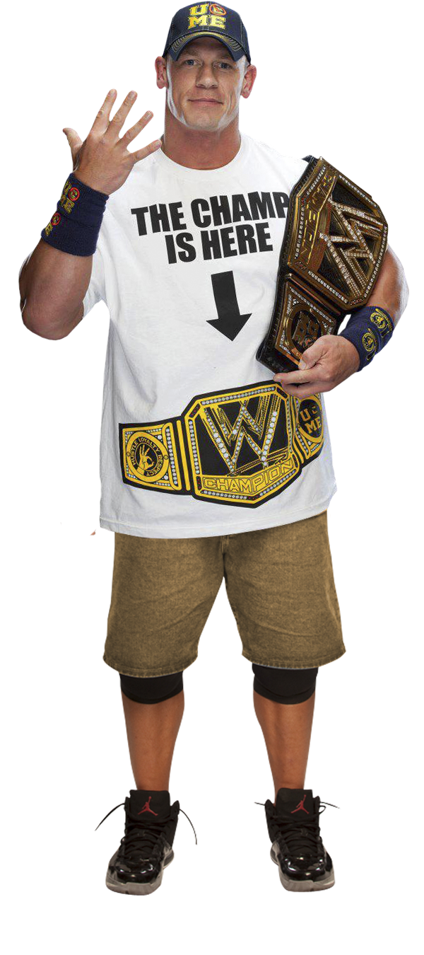 John Cena Wwe Champion V2 By The Rocker 69