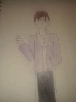 I drew myself in  Jaiden Animation's artstyle
