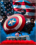US Agent Bloody Shield Poster