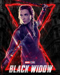 Black Widow Lightning Promo Poster