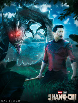 Shang Chi And The Dragon (Fin Fang Foom) Poster