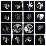 steampunk brooches