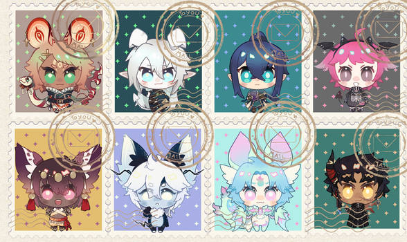 [comm] p stamp set 2