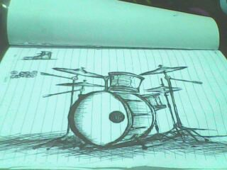 drums for free time sketch by demonicbeast696
