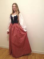 Renaissance maiden by Skymone
