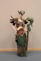 Druid of Nordrassil by Skymone