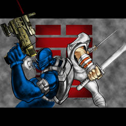 SnakeEyes and StormShadow
