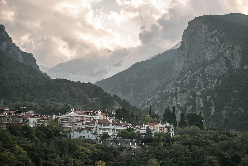 Mountain-side Hotel by Catherine-Di