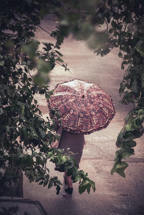 Umbrella Lady by Catherine-Di