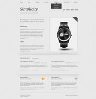 simplicity v.1 layout by senatorcreation