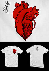 heart t-shirt by senatorcreation