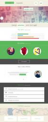 Responsive portfolio template for download! by senatorcreation