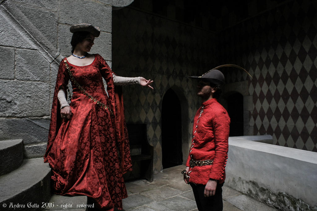 Red clothes by SpeculumHistoriae