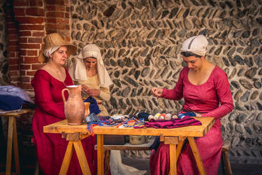 The sewing department by SpeculumHistoriae