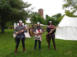 Crossbowmen in training