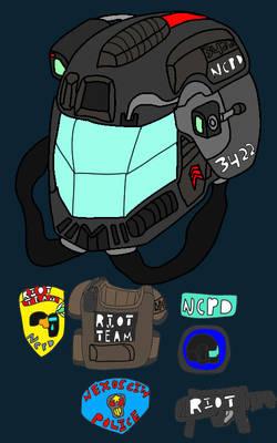 Nexus City Police Department Riot Team