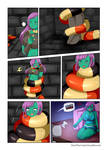 Comision Sophie and adventures in the dungeon p2