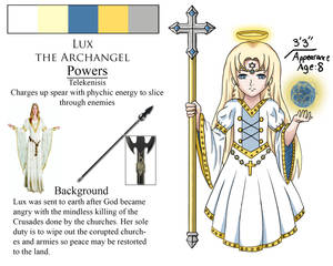 Lux the Archangel