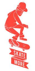 Skate More by budimanraharjo