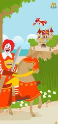 Ronald McDonald by budimanraharjo