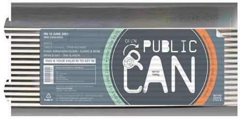 Public Can by budimanraharjo