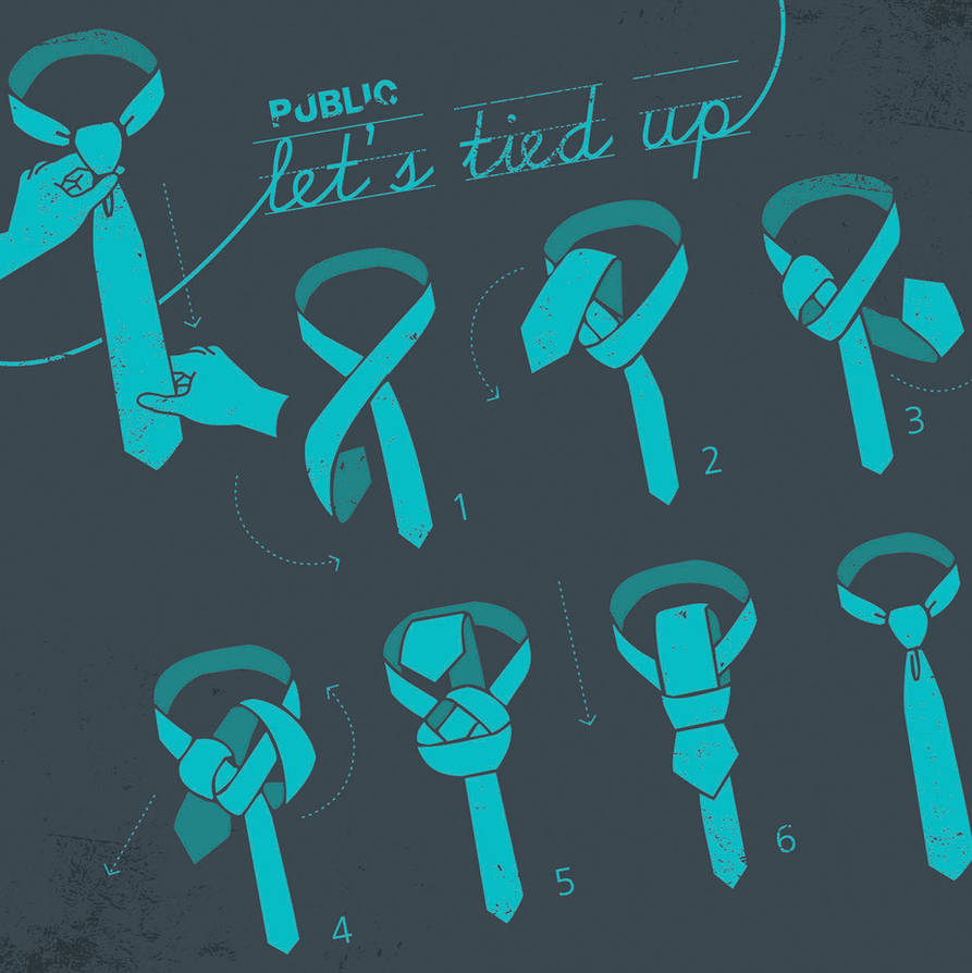 How to tie a tie by budimanraharjo