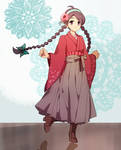 Hakama-Girl