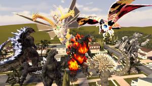 Godzilla Characters