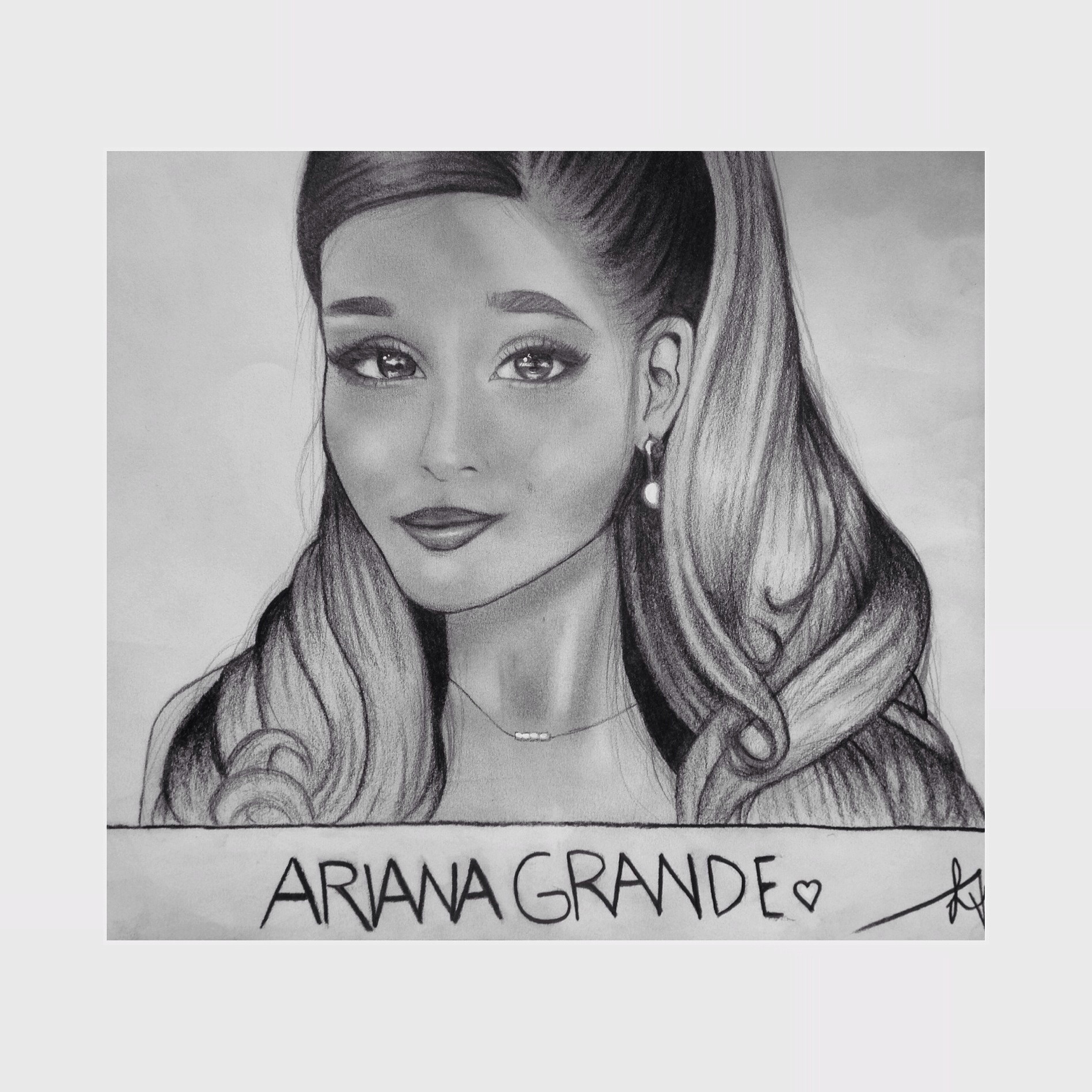 Download Thank You Next By Ariana Grande: Ariana Grande By Aizlynne On DeviantArt