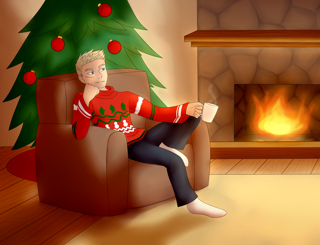 Secret Santa for a-manders! by Indyghost