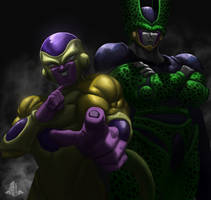 Frieza and Cell